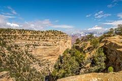 Взгляд от пункта Пауэлл на гранд-каньоне Стоковые Изображения