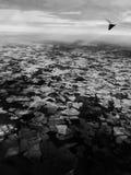 Взгляд от плоскости Стоковые Фото