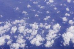 Взгляд от самолета Стоковая Фотография RF