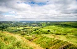 Взгляд от скалистой вершины Mam Стоковые Изображения RF
