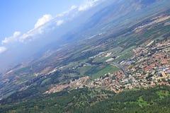 Взгляд от скалы Стоковое Фото
