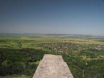 Взгляд от стены крепости над Madara Стоковое Изображение RF