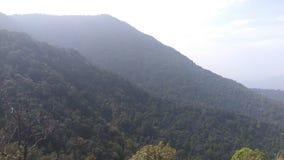 Взгляд от следа Kodachadri Trekking Стоковое фото RF