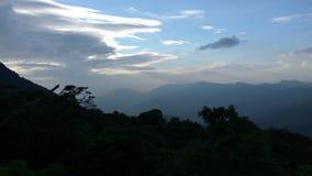 Взгляд от следа Kodachadri Trekking Стоковое Изображение
