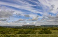 Взгляд от угла скалистой вершины бела Стоковые Фотографии RF