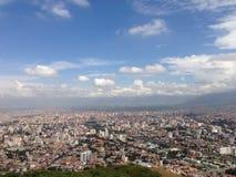 Взгляд от холма San Pedro Стоковое Фото