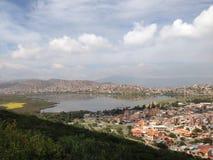 Взгляд от холма San Pedro Стоковые Изображения RF