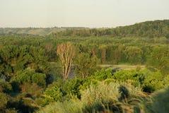 Взгляд от холмов Стоковые Фотографии RF