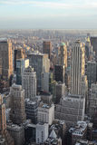 Взгляд от центра Рокефеллер, Нью-Йорка Стоковое Фото