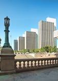 Взгляд от шагов здания капитолия Стоковые Фото