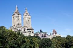 Взгляд от Central Park стоковое фото rf