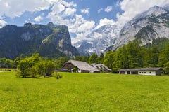 Взгляд от Konigsee Германия Стоковая Фотография