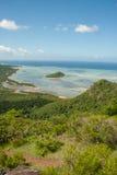 Взгляд от Le Morne, Маврикия Стоковое Изображение
