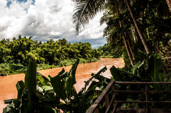 Взгляд от Luang Prabang Стоковые Изображения