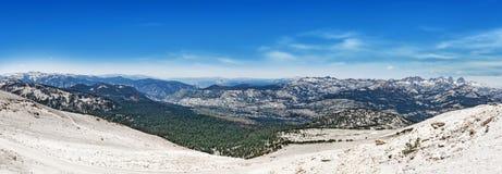 Взгляд от Mammoth Mountain стоковая фотография
