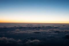 Взгляд от Mount Fuji Стоковое фото RF