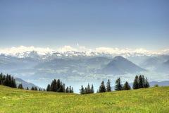 Взгляд от Mt Очень начинать от сентября Стоковое фото RF