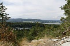 Взгляд от Oernskoldsvik Швеции Стоковая Фотография RF