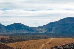 Взгляд от peack вулкана Стоковые Изображения