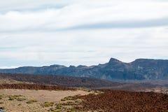 Взгляд от peack вулкана Стоковое фото RF