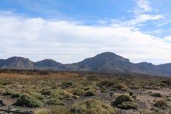 Взгляд от peack вулкана Стоковая Фотография RF