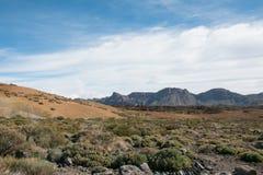 Взгляд от peack вулкана Стоковые Фотографии RF
