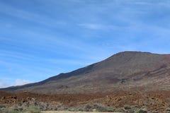 Взгляд от peack вулкана Стоковое Изображение