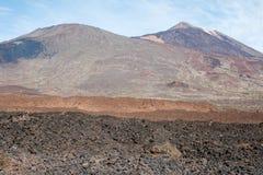 Взгляд от peack вулкана Стоковые Фото