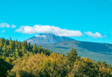 Взгляд от peack вулкана Стоковое Фото