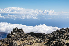 Взгляд от peack вулкана Стоковое Изображение RF
