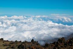 Взгляд от peack вулкана Стоковые Изображения RF