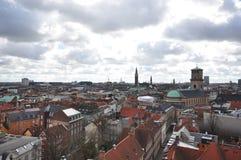 Взгляд от Rundetaarn Стоковая Фотография RF