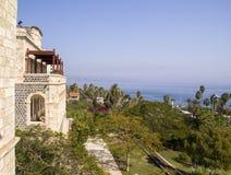 Взгляд от Tiberius к морю Galillee Израиль Стоковые Фотографии RF