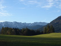 Взгляд от Wackersberg Стоковые Изображения