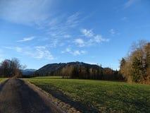 Взгляд от Wackersberg Стоковое Изображение RF