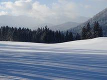 Взгляд от Wackersberg Стоковые Фотографии RF