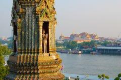 Взгляд от Wat Arun Стоковое Фото