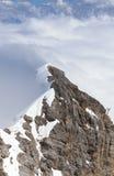 Взгляд от Zugspitze Германия Стоковые Фото