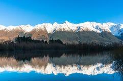 Взгляд долины горы Стоковое фото RF