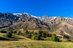 Взгляд долины горы Стоковые Изображения RF