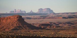 Взгляд долины памятника сценарный Стоковое Фото