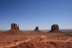 Взгляд долины памятника Стоковое Изображение