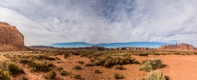 Взгляд долины памятника Стоковые Фотографии RF