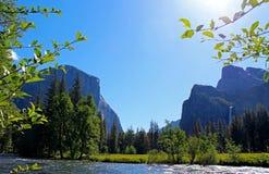 Взгляд долины, Yosemite, национальный парк Yosemite Стоковое Фото