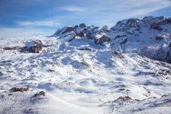 Взгляд доломитов Стоковое фото RF