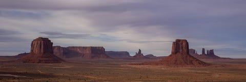 Взгляд панорамы долины памятника Стоковое Фото