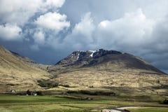 Взгляд 4 панорамы природы Шотландии гористой местности Глена Coe Стоковая Фотография