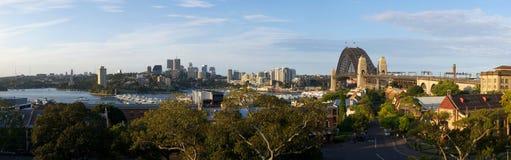 Взгляд панорамы Сиднея Стоковые Изображения RF
