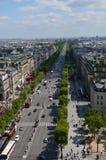 Взгляд Парижа (Франция) стоковая фотография rf