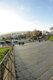 Взгляд Парижа Montmartre Стоковое Изображение